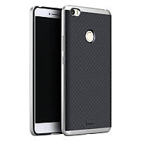 Чехол Ipaky для Xiaomi Mi Max бампер оригинальный silver