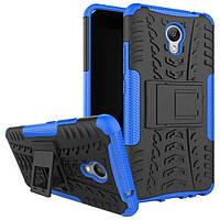 Чехол Meizu M5 Note Противоударный Бампер синий