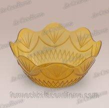 Пиала золотистая «Coppa Delizia» (d–12,5 см, h–2 см)