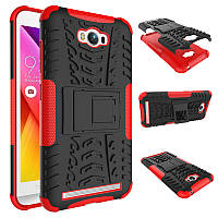 Чехол противоударный ASUS Zenfone MAX ZC550KL 5.5 Z010D бампер красный