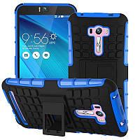 Чехол противоударный Asus ZenFone Selfie ZD551KL бампер синий