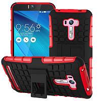 Чехол противоударный Asus ZenFone Selfie ZD551KL бампер красный