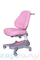 Детское компьютерное ортопедическое кресло растишка Ergoway M360 Pink