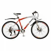 Велосипед спортивный 26 дюймов EXPERT Patriot белый