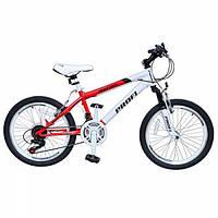 Велосипед спортивный Motion 20 дюймов красный