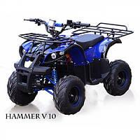 Квадроцикл детский электрический Хаммер 1000 Ватт Синий