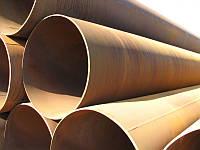 Труба стальная лежалая диаметр 630*8,9 мм ст.3сп.