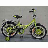 Двухколесный велосипед Профи Класик 20 дюймов G2042 зеленый