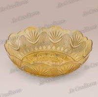 Пиала золотистая «Zuppiera» (d–24 см, h–6 см, 1350 мл)
