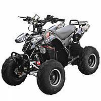 Квадроцикл детский электрический Micro 1000 Ватт Черный