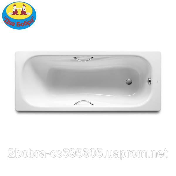 Ванна Стальная Прямоугольная 150*75 см. Roca PRINCESS + (Ножки и Ручки)