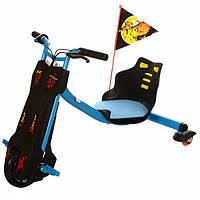 Детский электромотоцикл трехколесный MDA1-4 blue