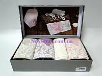 Набор из 4-х бамбуковых полотенец 30х50см Maison D'or Paris Jasmine
