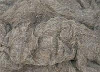 Кардочесанная шерсть для валяния Серый  кардочес шерстяная вата