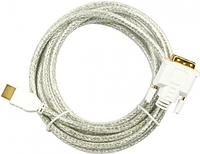HDCG-15 Кабель HDMI-DVI, 15.0 метров, прозрачный, Procable.