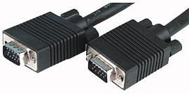 HMC-2H1503, VGA кабель (папа-папа), 2 ферритовых фильтра, 3,0 м, Procable.