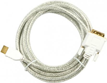 HDCG-20 Кабель HDMI-DVI, 20.0 метров, прозрачный, Procable.