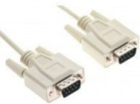 RS-PRO-02 Кабель RS232 (DB9) - RS232 (DB9), папа-папа, 28AWG, 2.0 м., Procable.