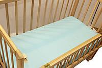 Простынь на резинке в детскую кроватку 2379