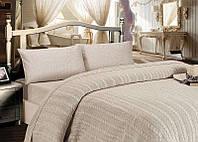 Набор Maison D`or Paris Jale Bej вязаное покрывало простынь наволочки