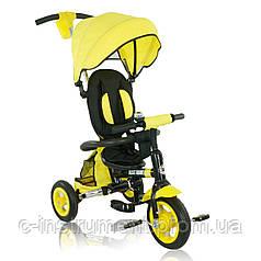 Трехколесный велосипед Best Trike Air 668 желтый