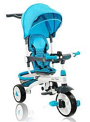 Трехколесный велосипед Best Trike EVA 128 синий