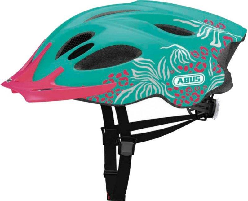 Велошлем  ABUS ARICA Turquise Beast (L)