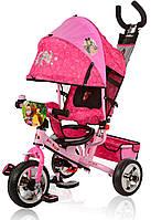 Трехколесный велосипед колясочного типа Маша и Медведь Eva 0156 розовый
