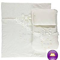Комплект конверт одеяло подушка Bebetto PRENSES