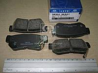Колодки тормозные дисковые (производитель Mobis) 583023KA51