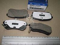 Колодки тормозные задние (диск) (производитель Mobis) 5830207A10