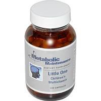 Metabolic Maintenance, Little One, Мультивитамины для детей, 100 капсул