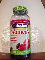 Жевательные витамины для женщин Women's Vitafusion