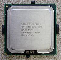 Процессор 2 ядра Pentium E2160 1.8 Ghz LGA775 1мб