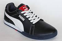 Видеообзор Демисезонные мужские кроссовки из кожи Puma K-101
