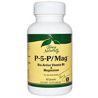 EuroPharma, Terry Naturally, Terry Naturally, P-5-P/Mag, 60 капсул