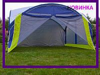 Шатер большой Х-2011 Mimir москитная сетка + тент 3,6х3,6 м