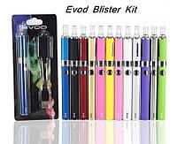Электронная сигарета EVOD MT3 Blister kit 1100mah: зарядка, блокировка кнопки, разные цвета