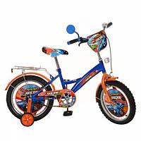 """Детский велосипед двухколесный """"Гонки"""" 16 мульт 1643"""