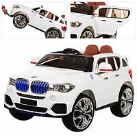 Детский электромобиль BMW X5 new white M 2762(MP4)EBLR-1