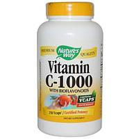 Natures Way, Витамин C-1000 с биофлавоноидами, 250 капсул