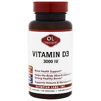 Olympian Labs Inc., Витамин D3, 3000 МЕ, 100 капсул