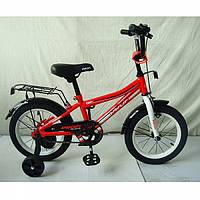 """Детский велосипед двухколесный Top Grade красный 14"""" L14105"""