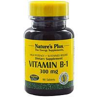 Natures Plus, Витамин В1 90 таблеток