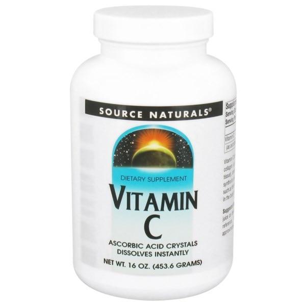 Source Naturals, Витамин С, 16 унций (453.6 г)