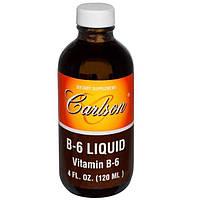 Carlson Labs, Жидкий B-6, 4 жидких унций (120 мл)