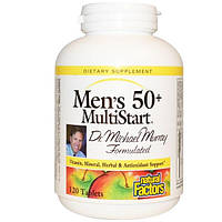 Natural Factors, Комплекс мультивитаминов MultiStart для мужчин старше 50 лет, 120 таблеток