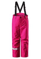 Зимние штаны на подтяжках для девочки Lassie 722696 - 3520. Размер 104 - 128.