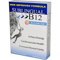 Heaven Sent Naturals, Подъязычный витамин B12, вкус ягод, 30 быстрорастворимых таблеток