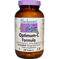 Bluebonnet Nutrition, Состав Optimum-C, 180 капсул на растительной основе
